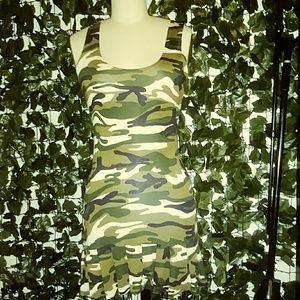 Dresses & Skirts - Camouflage Stretch Dress